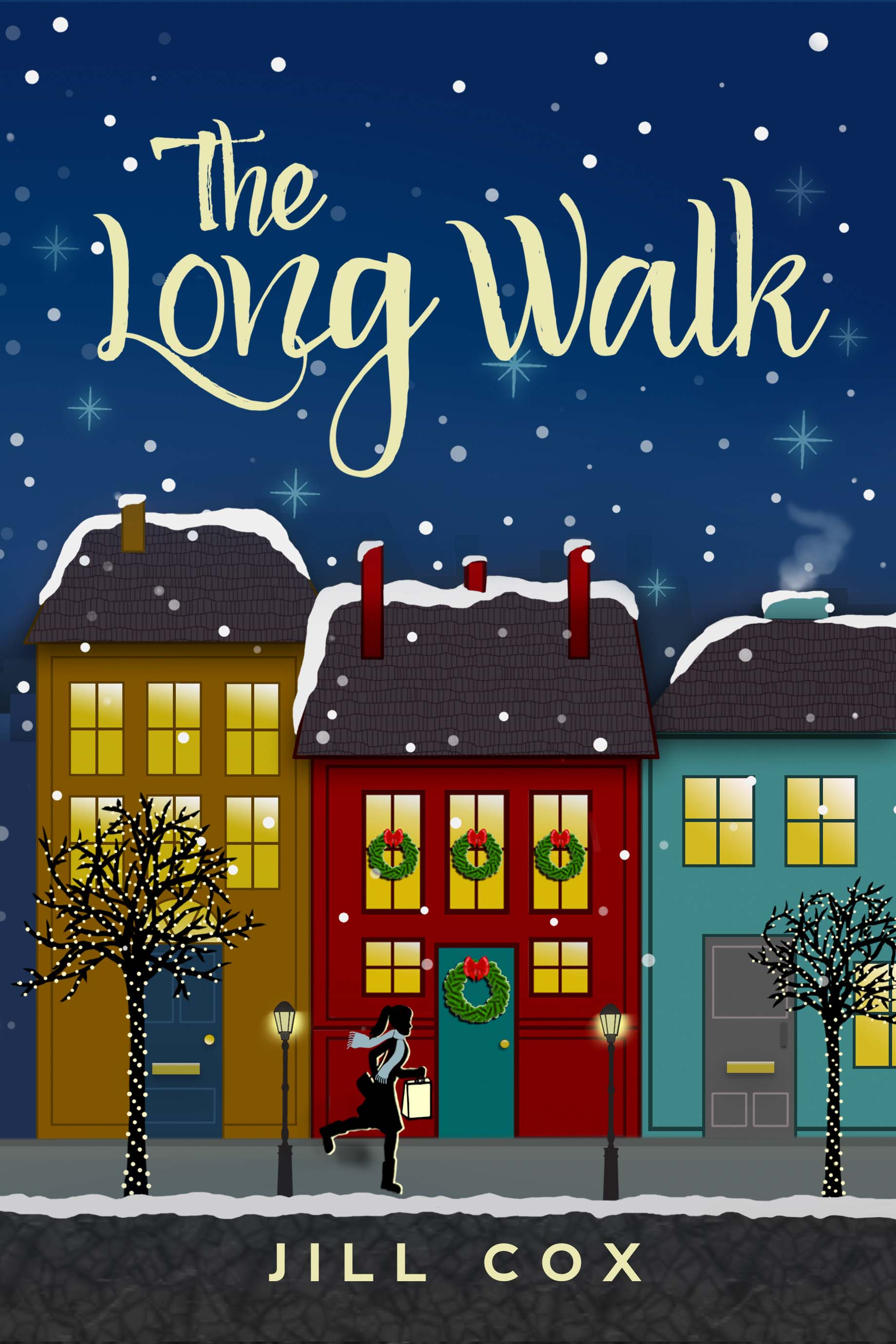 The Long Walk Book Cover by Jill Cox